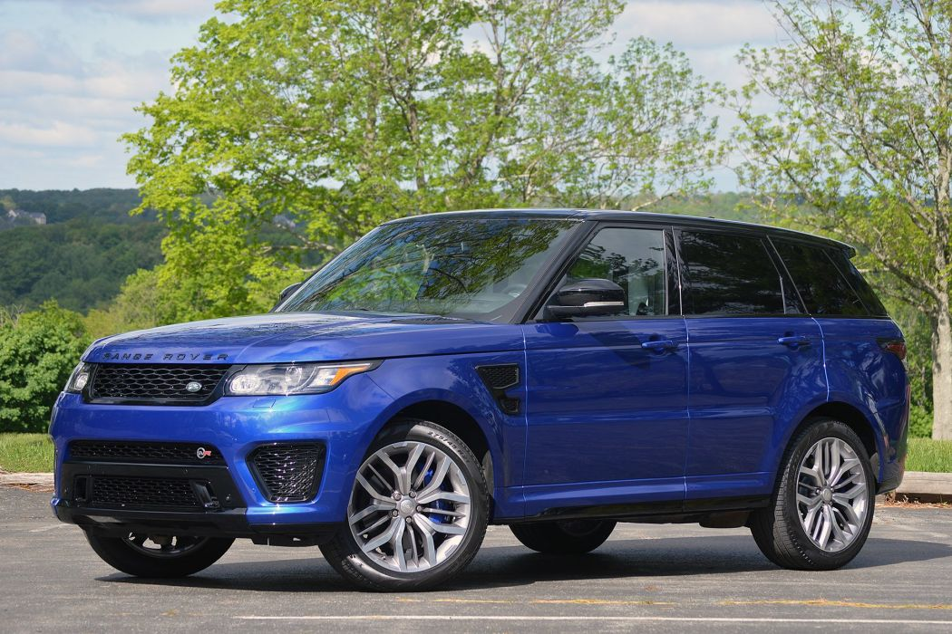 2016 Range Rover Sport SVR cars suv blue wallpaper