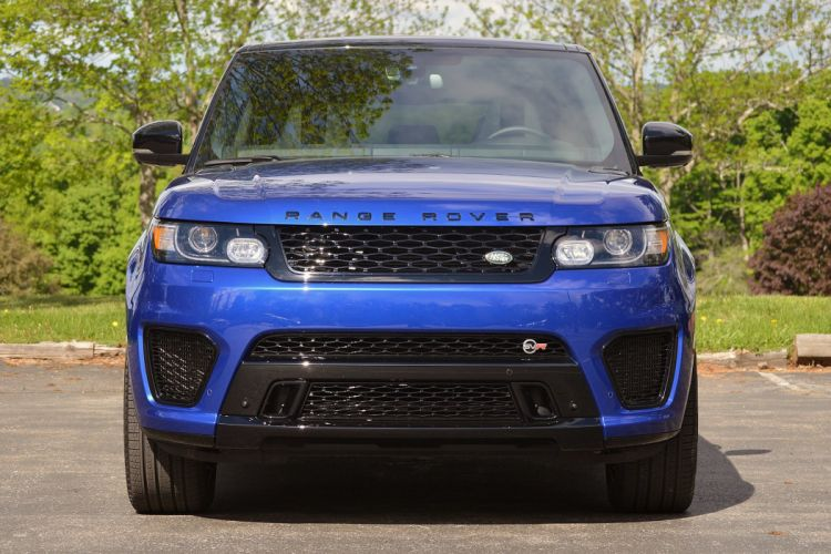 2016 Range Rover Sport SVR cars suv blue wallpaper