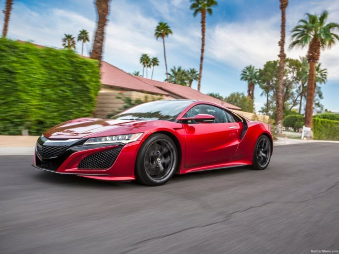 2016 Acura NSX coupe cars wallpaper