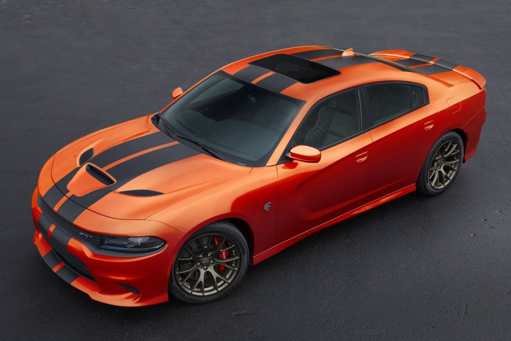 Dodge charger SRT Go Mango cars sedan colors 2016 wallpaper