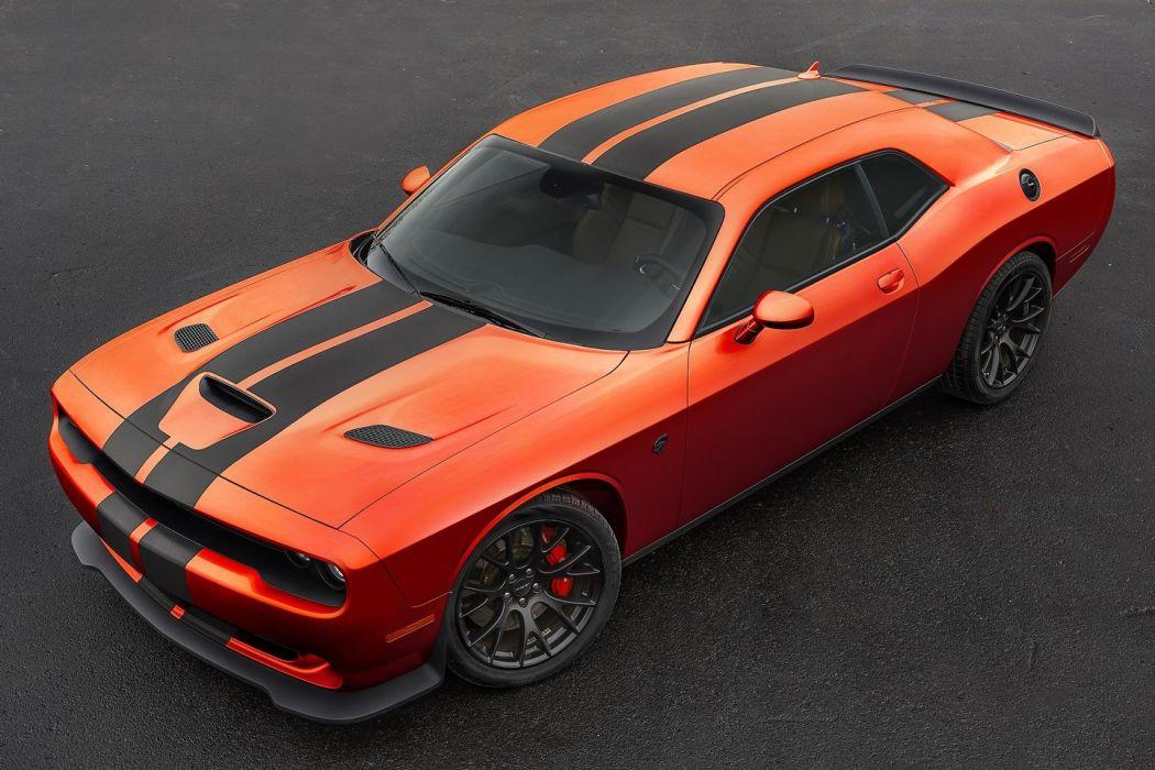 Dodge challenger SRT Go Mango cars coupe colors 2016 wallpaper