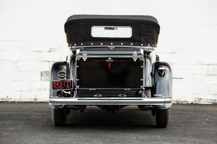 1931 Buick Series 90 Sport Roadster cars classic black wallpaper