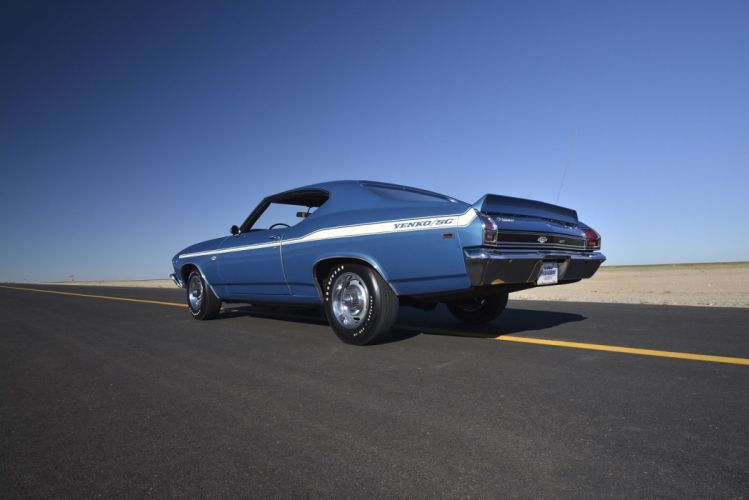 1969 chevelle Chevrolet classic copo muscle yenko Yenko-SC wallpaper