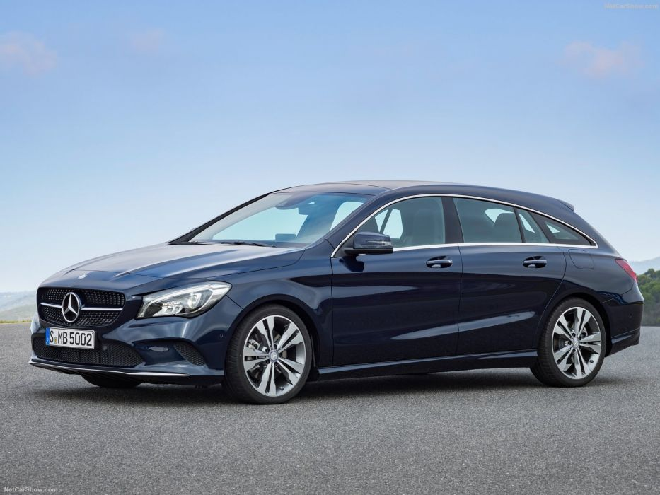 Mercedes Benz CLA Shooting Brake cars wagon 2016 wallpaper