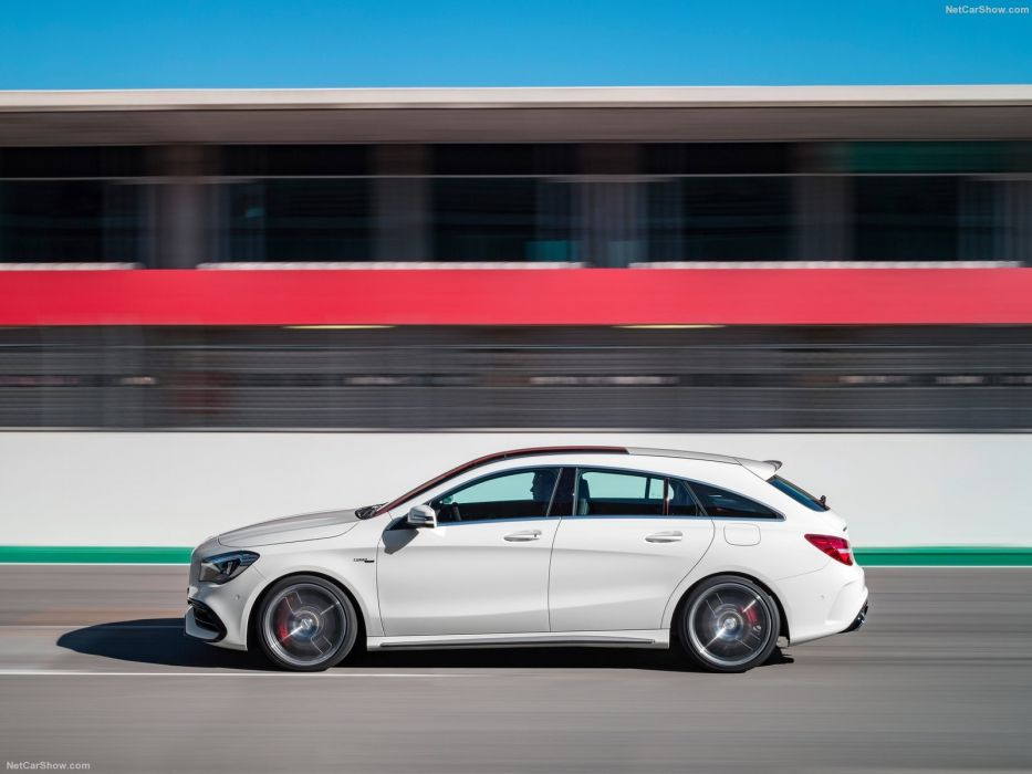 Mercedes Benz CLA45 AMG Shooting Brake cars wagon 2016 wallpaper