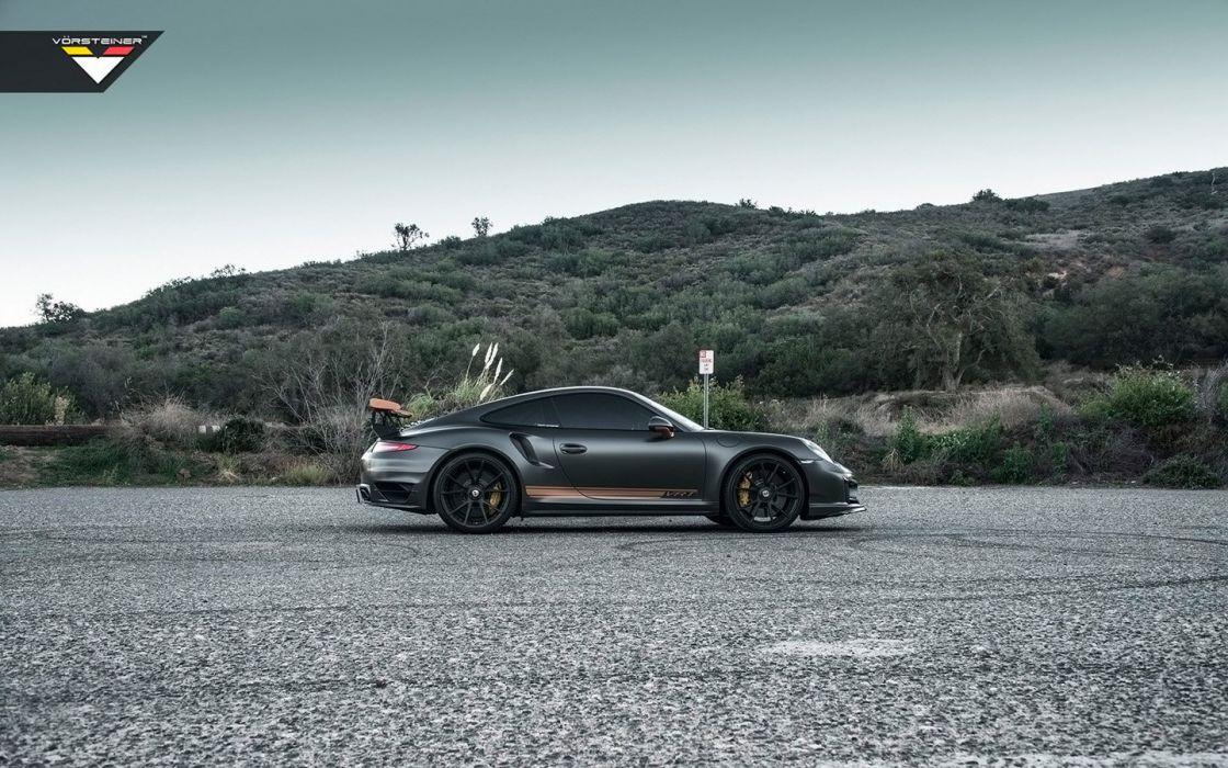 2016 Vorsteiner Porsche 911 Turbo S VRT modified cars wallpaper