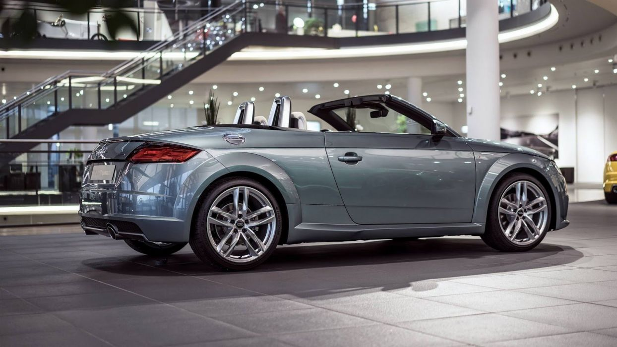 Audi Exclusive TT Roadster cars 2016 wallpaper