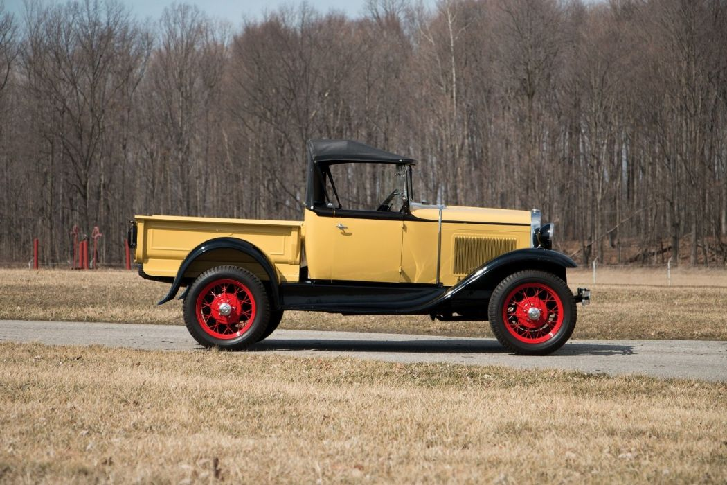 1930 1931 Ford Model A Roadster Pickup cars classic retro wallpaper