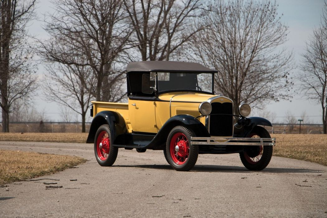 1930 1931 Ford Model A Roadster Pickup cars classic retro wallpaper