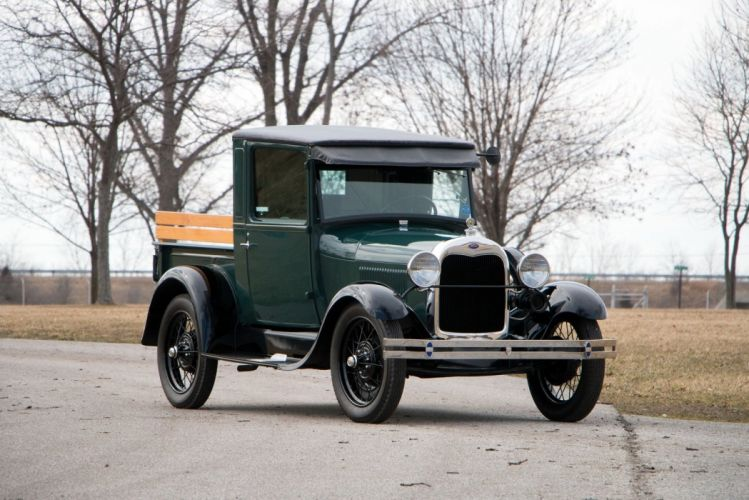 1928 1929 Ford Model A Pickup cars classic retro wallpaper