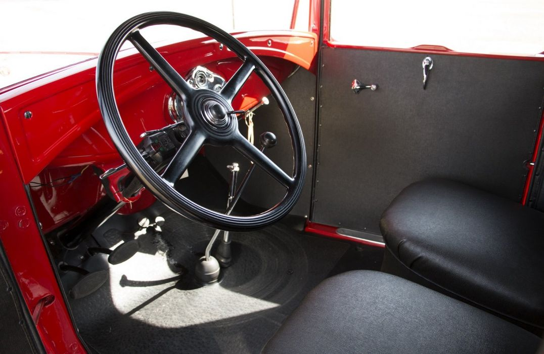 1930 1931 Ford Model A Deluxe Delivery cars classic retro wallpaper