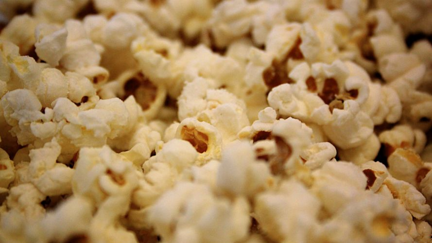 popcorn food wallpaper