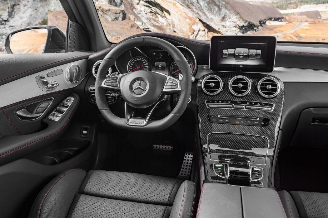 Mercedes AMG GLC 43 4MATIC (X253) cars black suv 2016 wallpaper