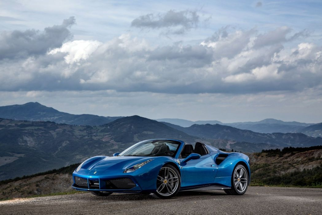 2015 488 cars Ferrari spider  wallpaper