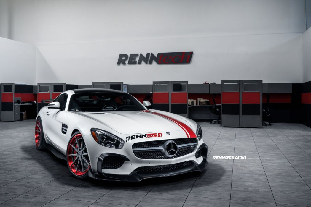 Mercedes AMG GTS Renntech modified cars adv1 wheels wallpaper