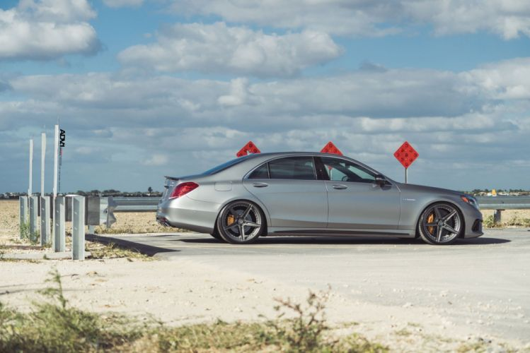 Mercedes S63 AMG sedan cars adv1 wheels wallpaper