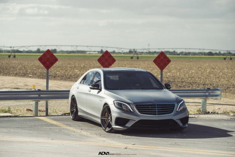 Mercedes S63 AMG sedan cars adv1 wheels wallpaper