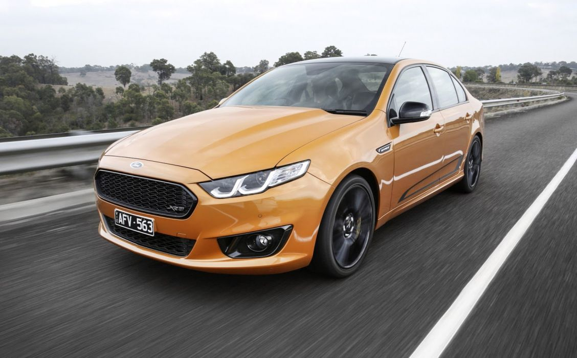 Ford Falcon XR8 Sprint AU-spec (FG) cars sedan 2016 wallpaper