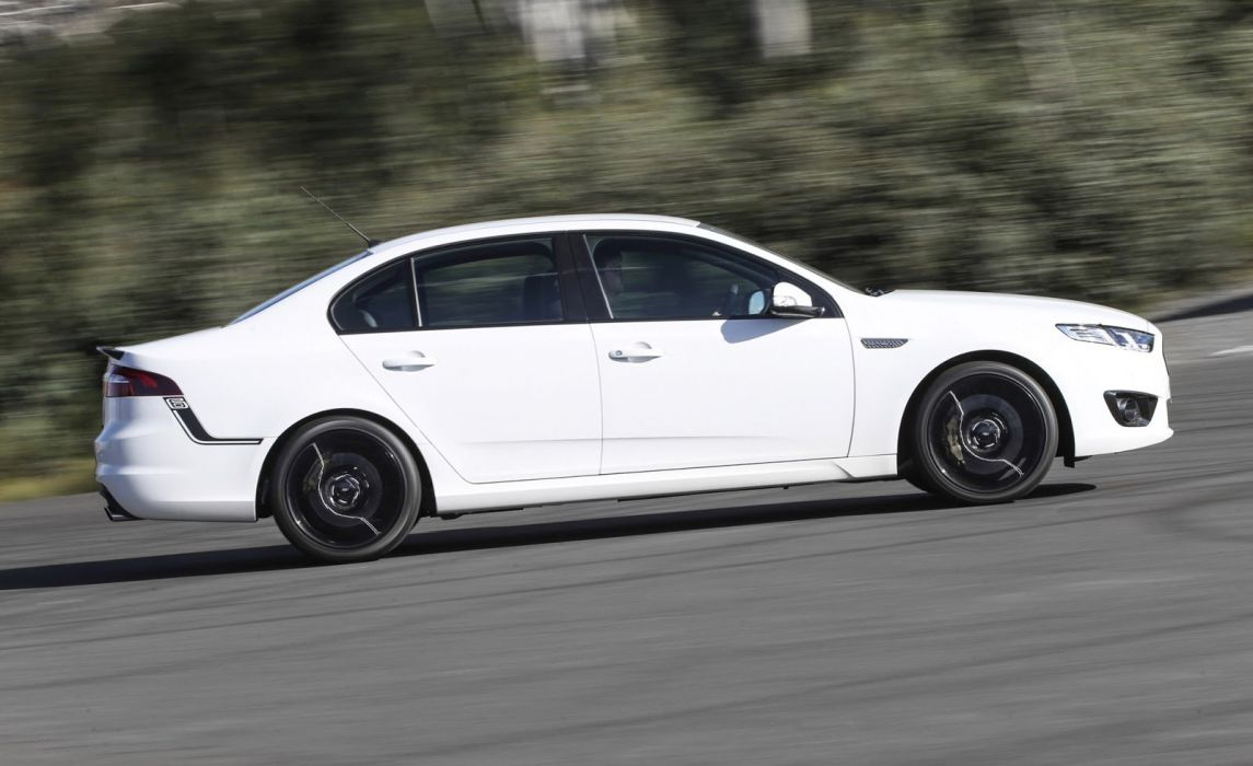 Ford Falcon XR6 turbo Sprint AU-spec (FG) cars sedan 2016 wallpaper