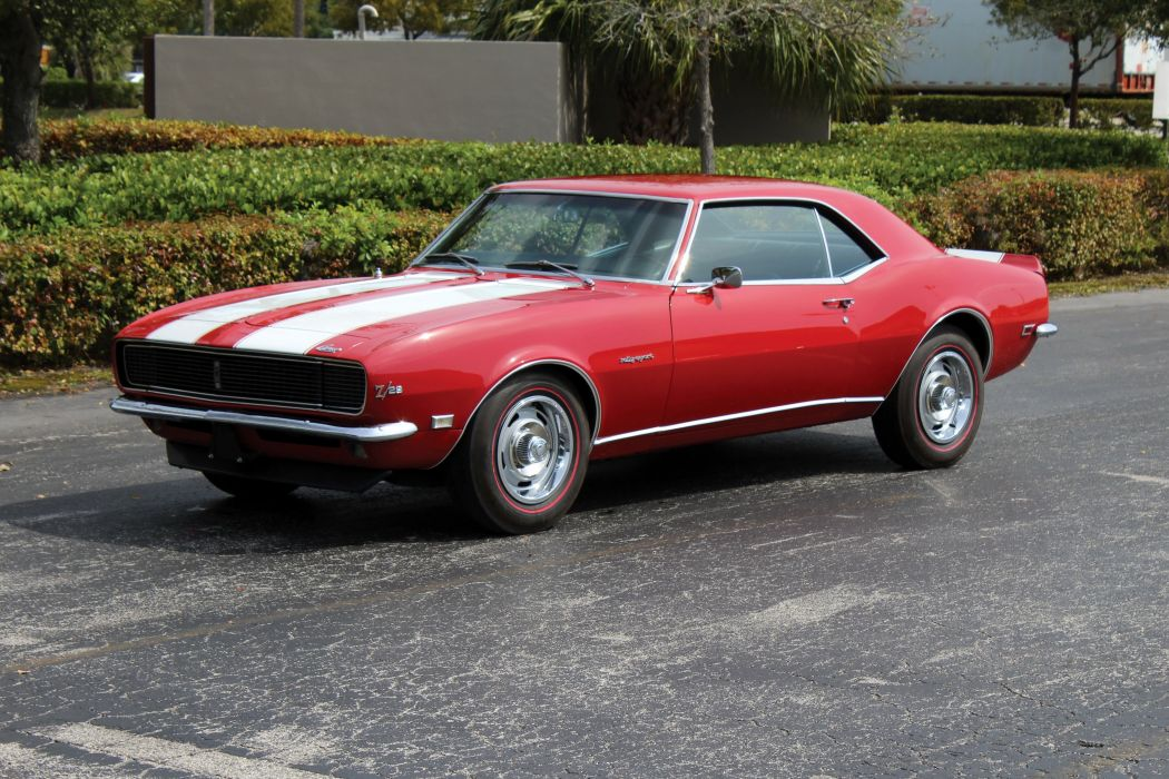 1968 Chevrolet Camaro Z28 RS cars coupe classic wallpaper
