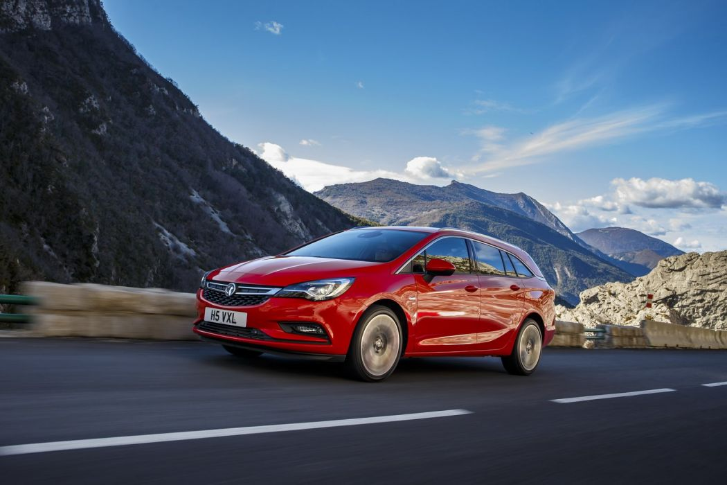 2016 Vauxhall Astra Sports Tourer cars wagon (UK) wallpaper