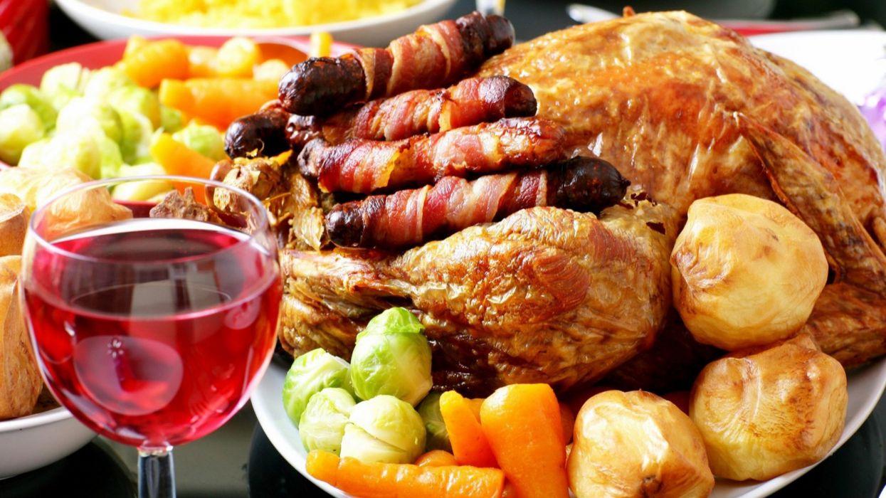 comidas plato chino carne verduras vinos wallpaper