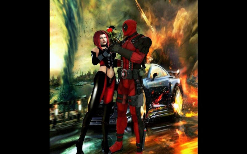 BLOODRAYNE action adventure fantasy dark horror vampire blood thriller superhero poster wallpaper