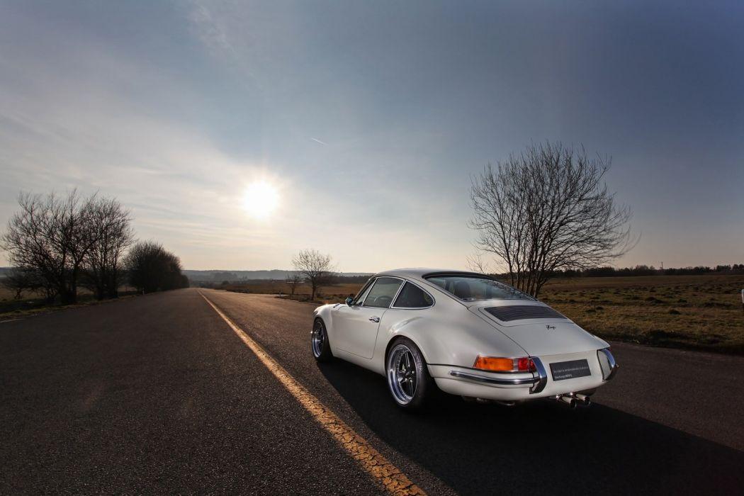 EGE Porsche 911 cars white modified wallpaper