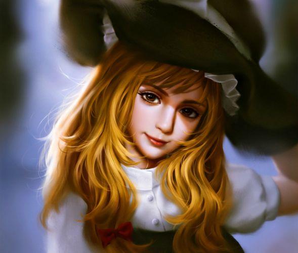 fantasy girl character beautiful long hair woman blonde wallpaper