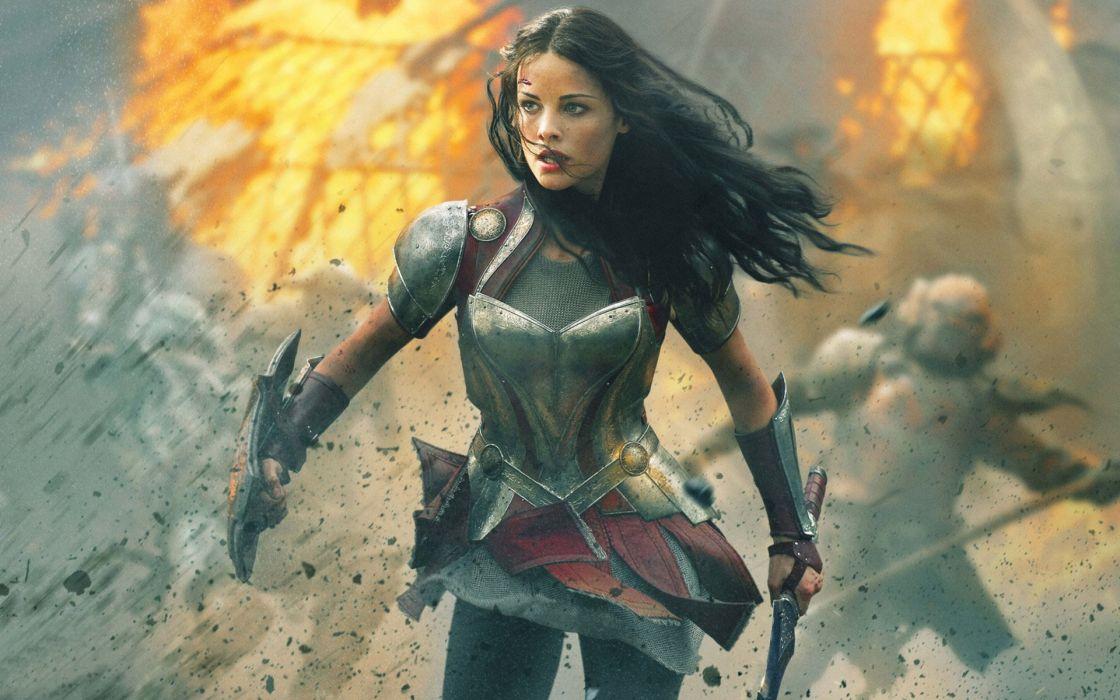 Natalie Portman Thor The Dark World wallpaper