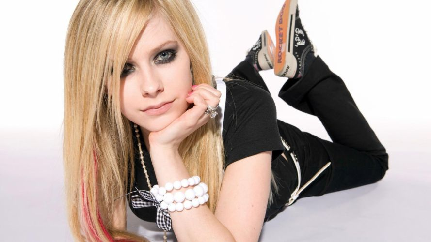 woman female long hair beautiful girl Avril Lavigne blonde wallpaper