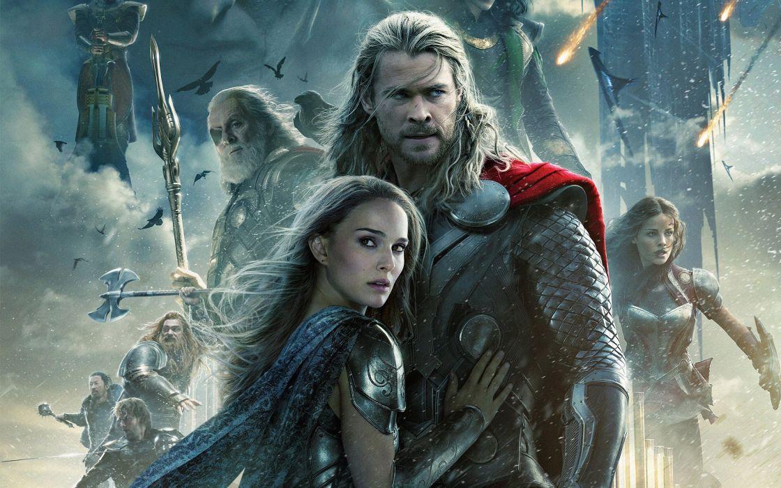 Thor The Dark World movie wallpaper