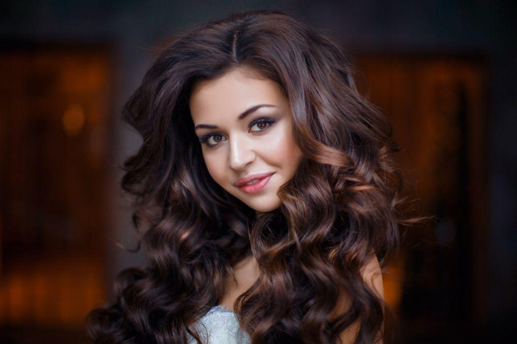 woman female long hair beautiful girl wallpaper