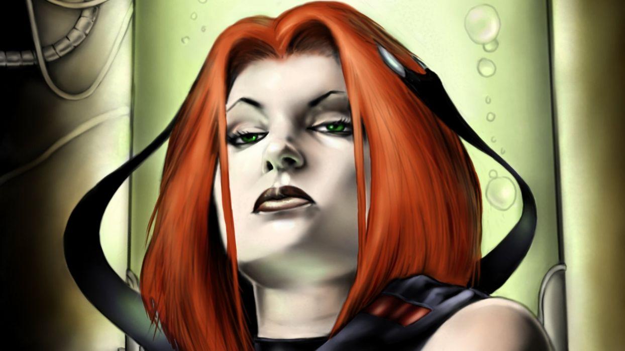 BLOODRAYNE action adventure fantasy dark horror vampire blood thriller wallpaper