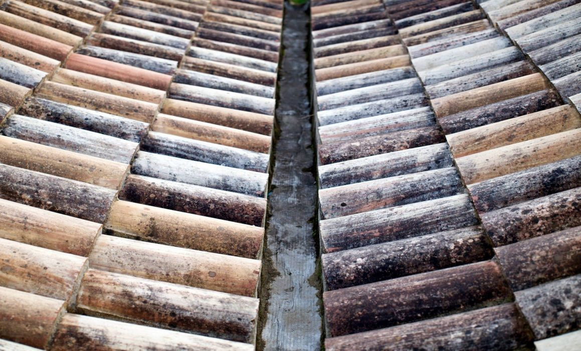 tejado teja canal cubierta wallpaper