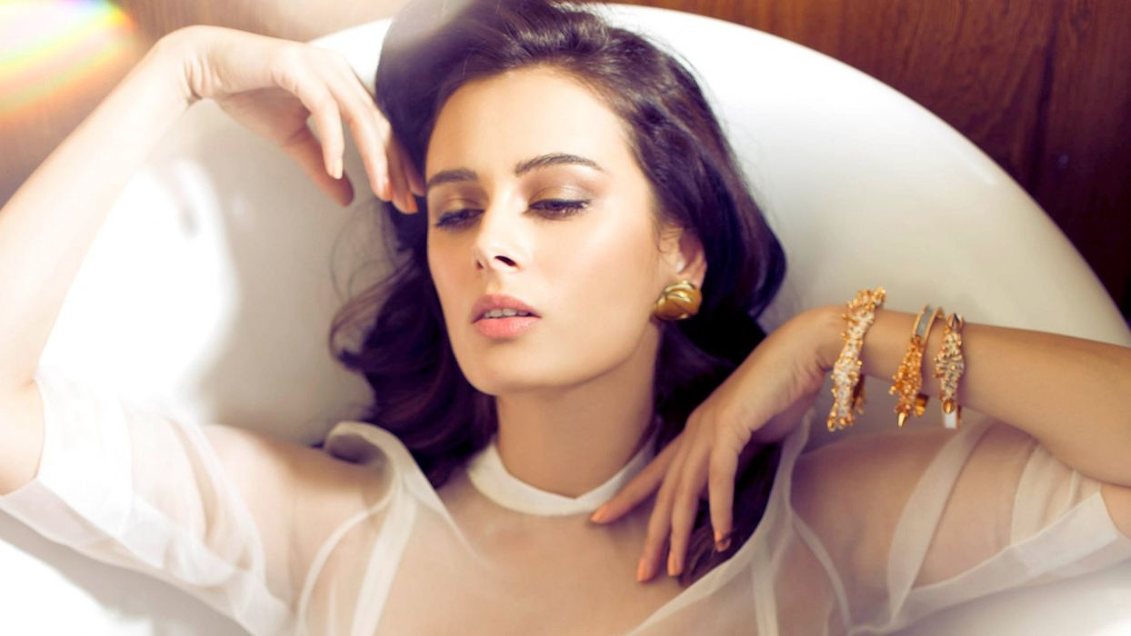 evelyn sharma bollywood actress model girl beautiful brunette pretty cute beauty sexy hot pose face eyes hair lips smile figure indian  wallpaper