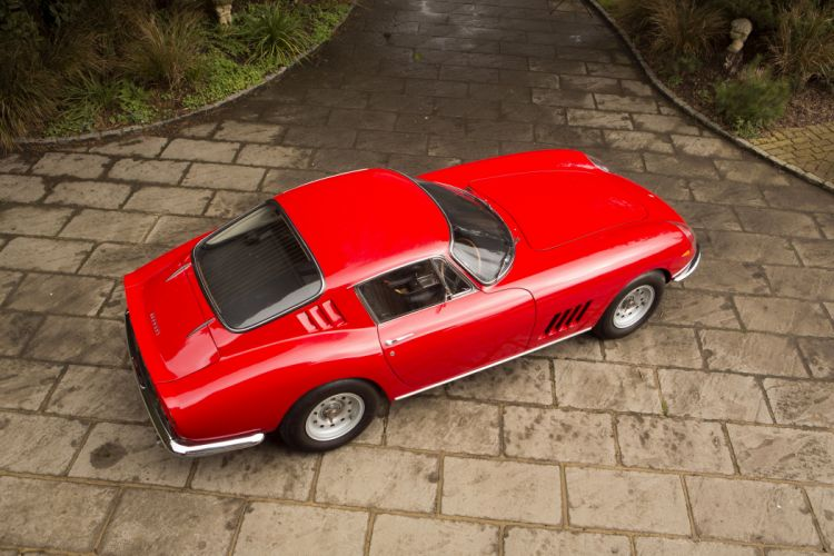 Ferrari 275 GTB 6C UK-spec cars red classic 1966 wallpaper