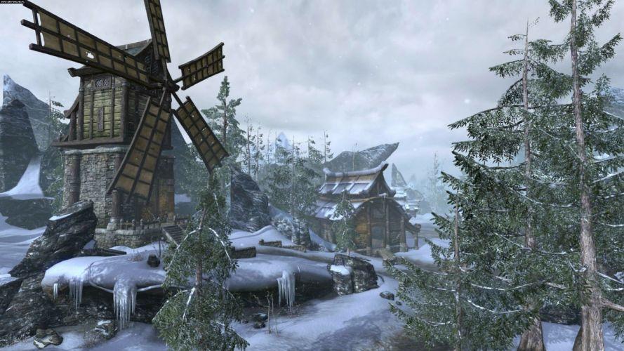 ELDER SCROLLS fantasy action rpg skyrim fighting warrior artwork dragon wallpaper
