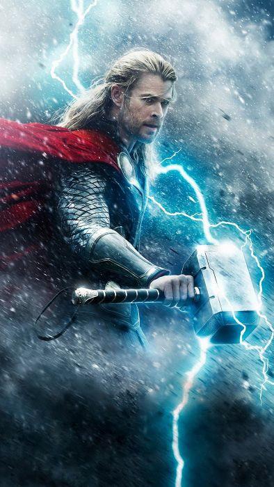Thor Superhero Marvel Warrior Fantasy Avengers Wallpaper 1440x2560 914160 Wallpaperup