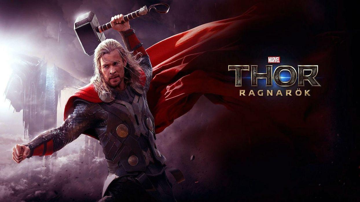 THOR superhero marvel warrior fantasy avengers poster wallpaper