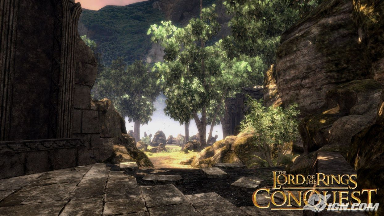 Lord Of The Rings Conquest landscape wallpaper