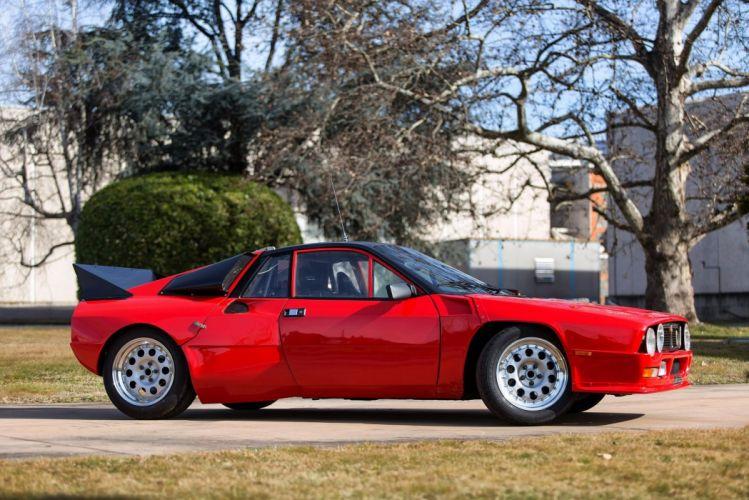 Abarth Lancia SE 037 cars racecars 1980 wallpaper