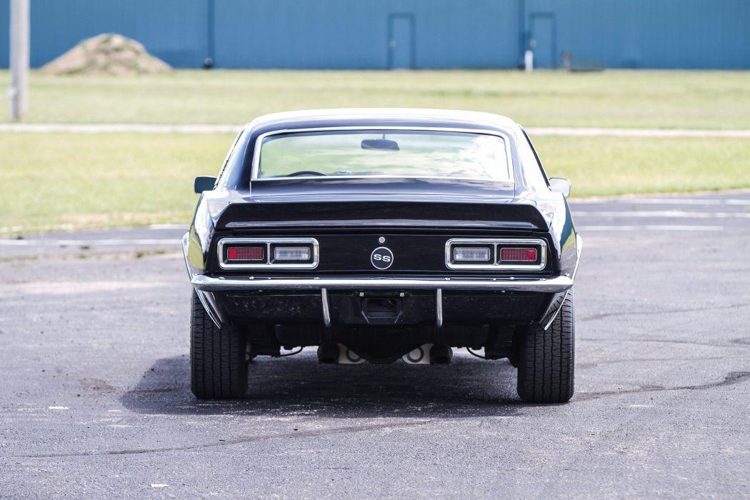1968 Chevrolet Camaro SS L35 396 cars classic coupe wallpaper