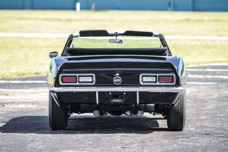 1968 Chevrolet Camaro SS L35 396 cars classic convertible wallpaper