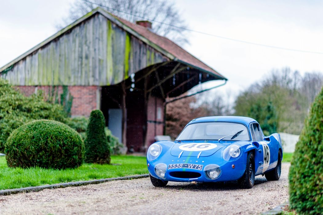 Alpine M64 1964 cars racecars wallpaper