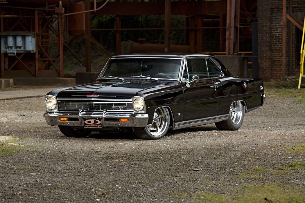 1966 Chevrolet Nova cars black modified wallpaper