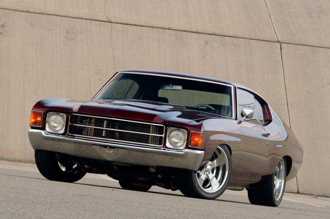 1972 Chevrolet Chevelle modified wallpaper