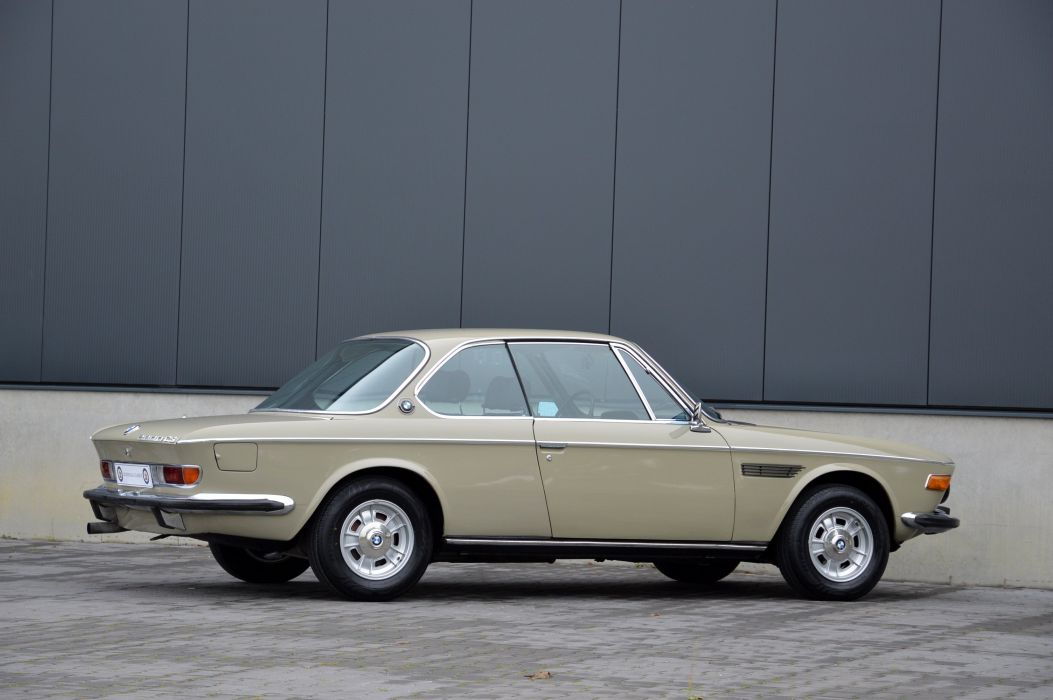 BMW 2800 CS (E9) coupe cars 1968 1971 wallpaper
