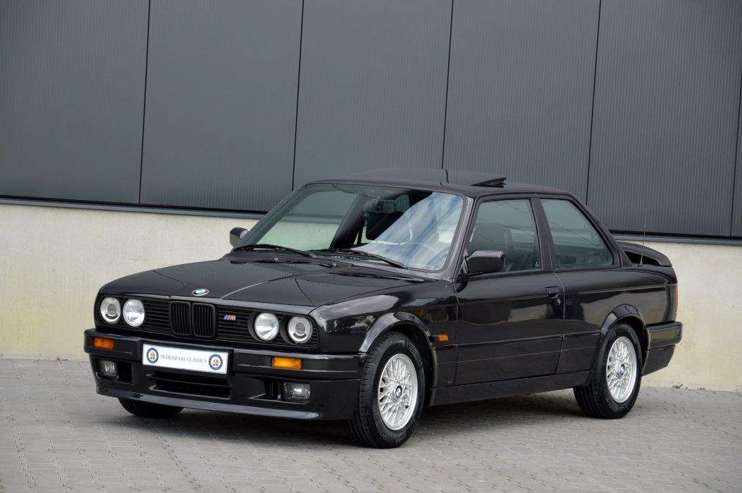 BMW 320is Coupe (E30) cars 1988 1990 wallpaper