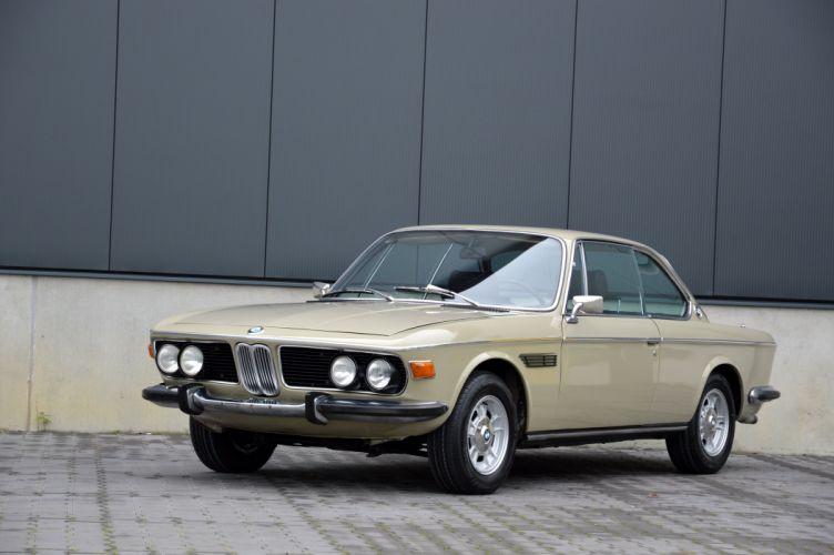 BMW 2800 CS (E9) coupe cars 1968 1971 wallpaper